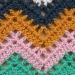 snood crochet seventies